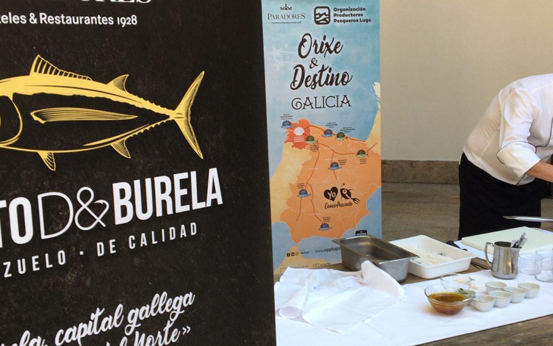 """COMIENZA LA """"RUTA XACOBEA DEL BONITO DE BURELA"""" EN LOS PARADORES DE TURISMO"""