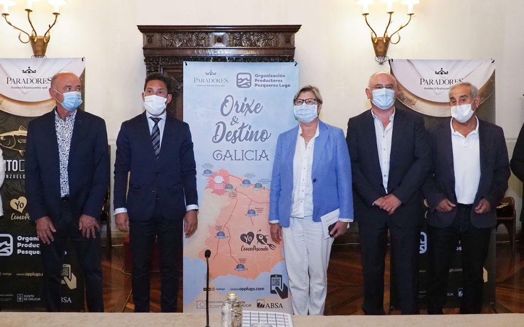 """OPP LUGO Y PARADORES PRESENTARON EN COMPOSTELA LA CAMPAÑA """"ORIXE & DESTINO GALICIA"""""""
